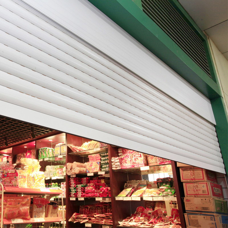 Automatic Roller Doors for Commercial Store