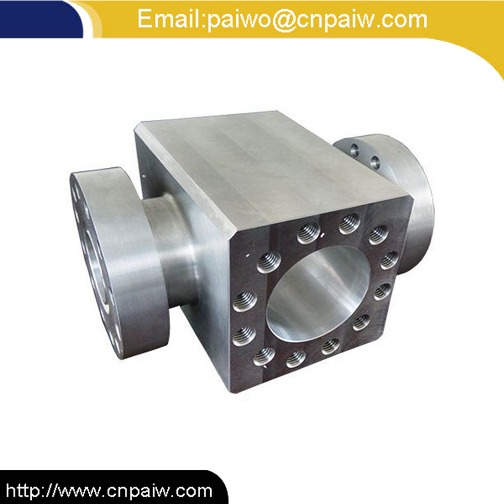Alloy Steel CNC Machining OEM Service Spare Parts Used for Petroleum Fitting Oilfield Equipment