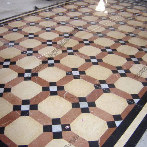 Polished Granite Marble Floor Tiles for Flooring and Wall