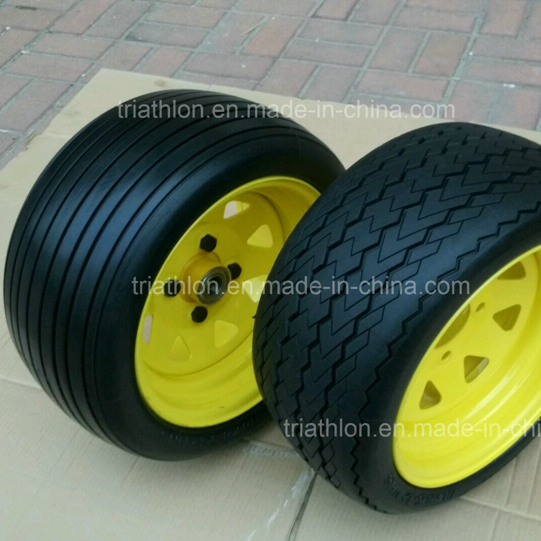 18X8.50-8 Flat-Free Wheel for Mover / Golf Cart / Trailer