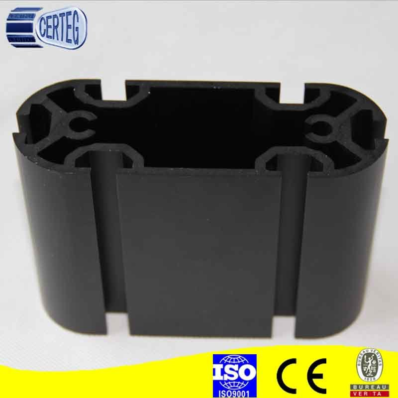 Low Price Natural Anodized Construction Aluminum Profiles for Furniture
