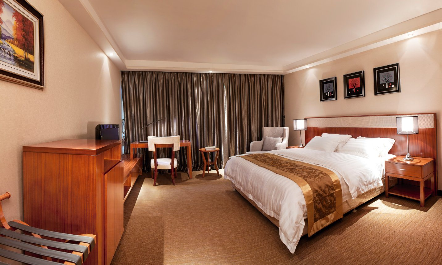 Modern High Quality Hotel Bedroom Furniture (NL-TF208)