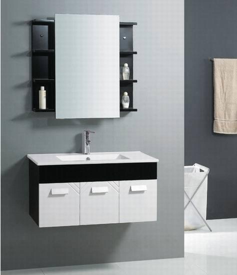 china white black hotel bathroom vanity cabinet gbp010