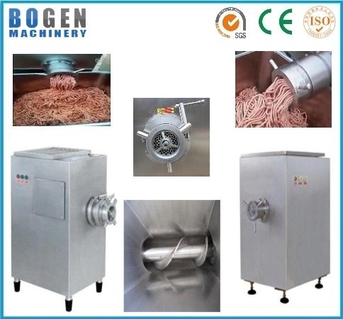 Factory Supply Meat Mincing Machine with Stainless Steel
