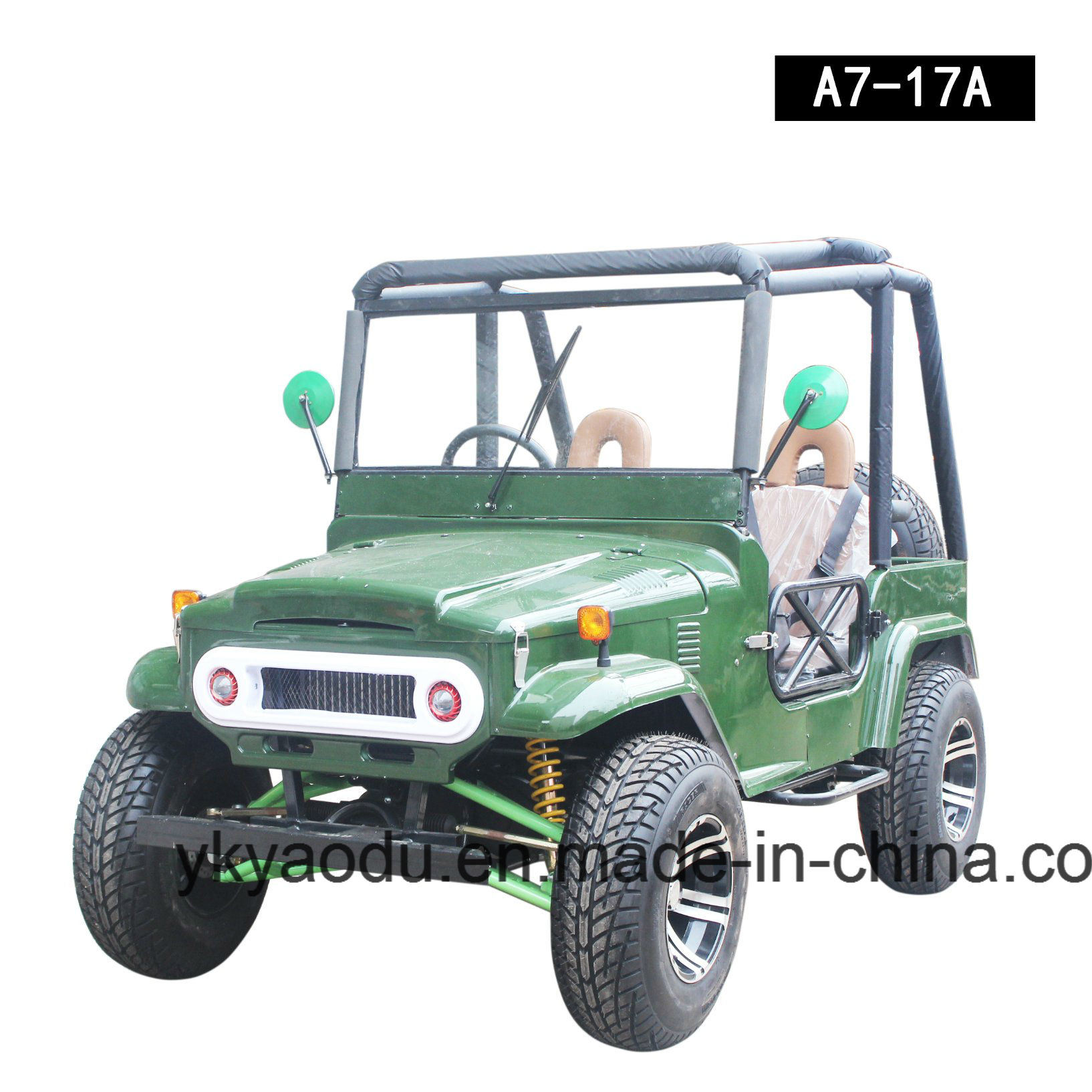 Best Selling Mini Jeep Willys with 150cc, 200cc, 300cc Engine Optional