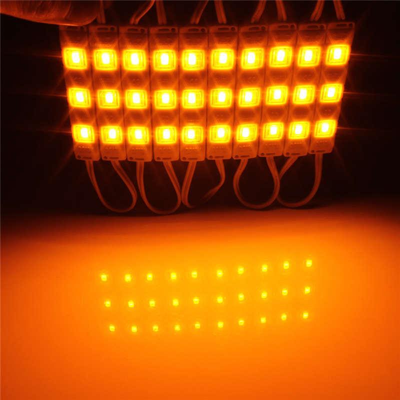 68*20mm RGB 3PCS 5050 LED Module