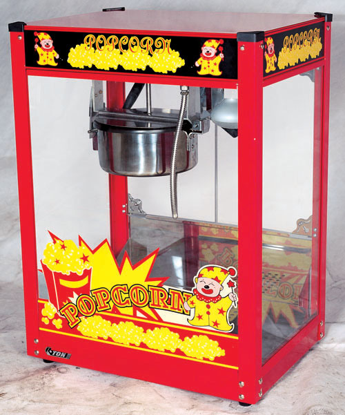 CE Approved Newly Upgraded Common Popcorn Machine (ET-POPB-R)