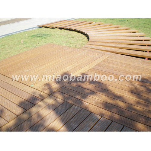 China Outdoor Strand Woven Bamboo Decking P 17 China