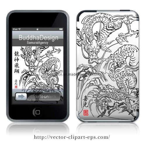 Phone Cover Tattoo Sticker