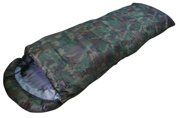 Army Sleeping Bag (envelop) , Camo, Military Sleeping Bag