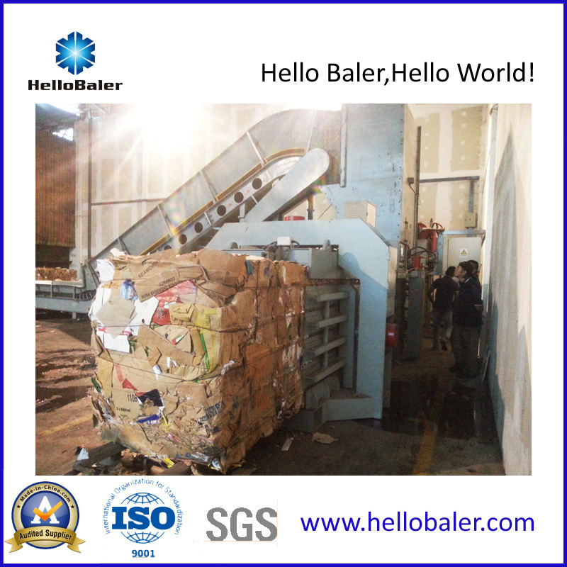 Hydraulic Automatic Waste Paper Cardboard Baler Equipment