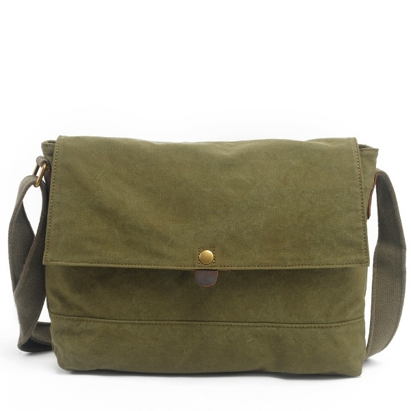 Designer Wholesale Unisex Canvas Shoulder Bag Satchel (RS- 6003)