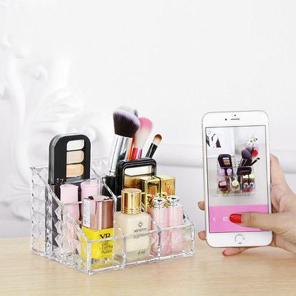 Desktop Acrylic Cosmetic Storage Box Cosmetic Organizer