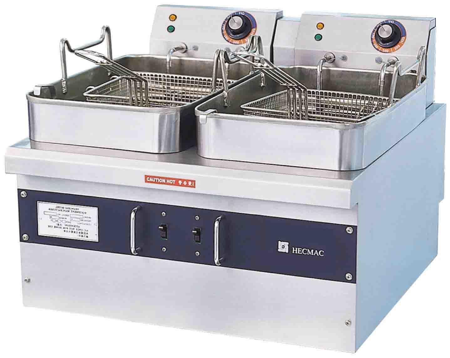 Heavy Duty Electric Fryers---Double Tanks (FEHCD224)