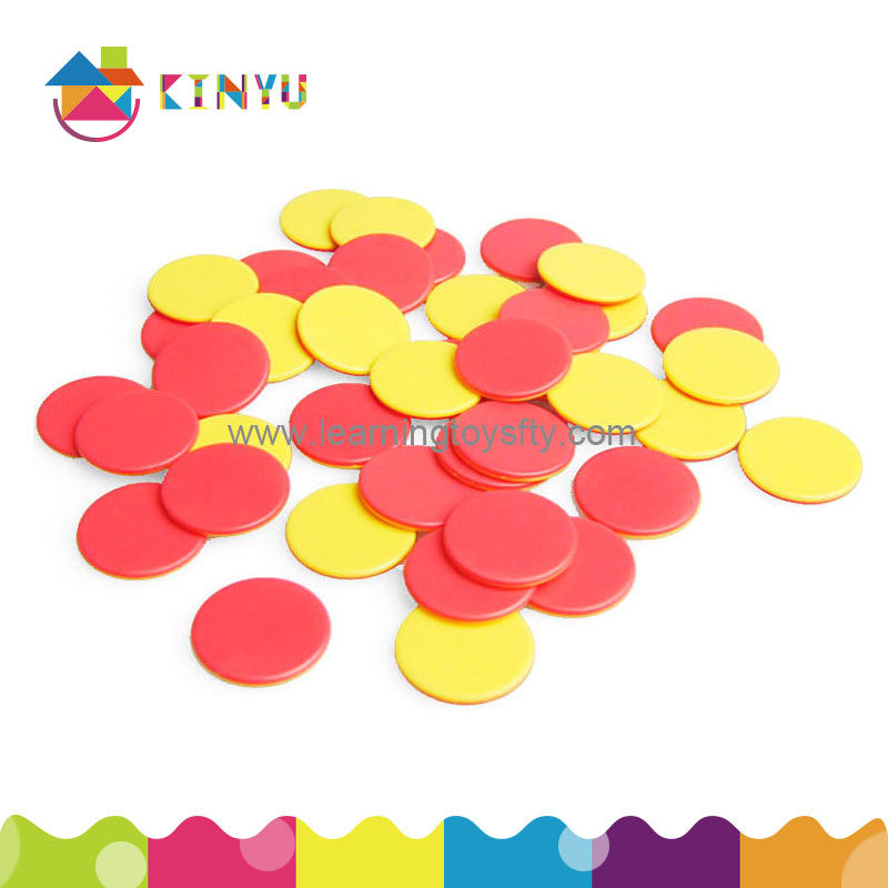 Math Educational Toys of Two Color Counters