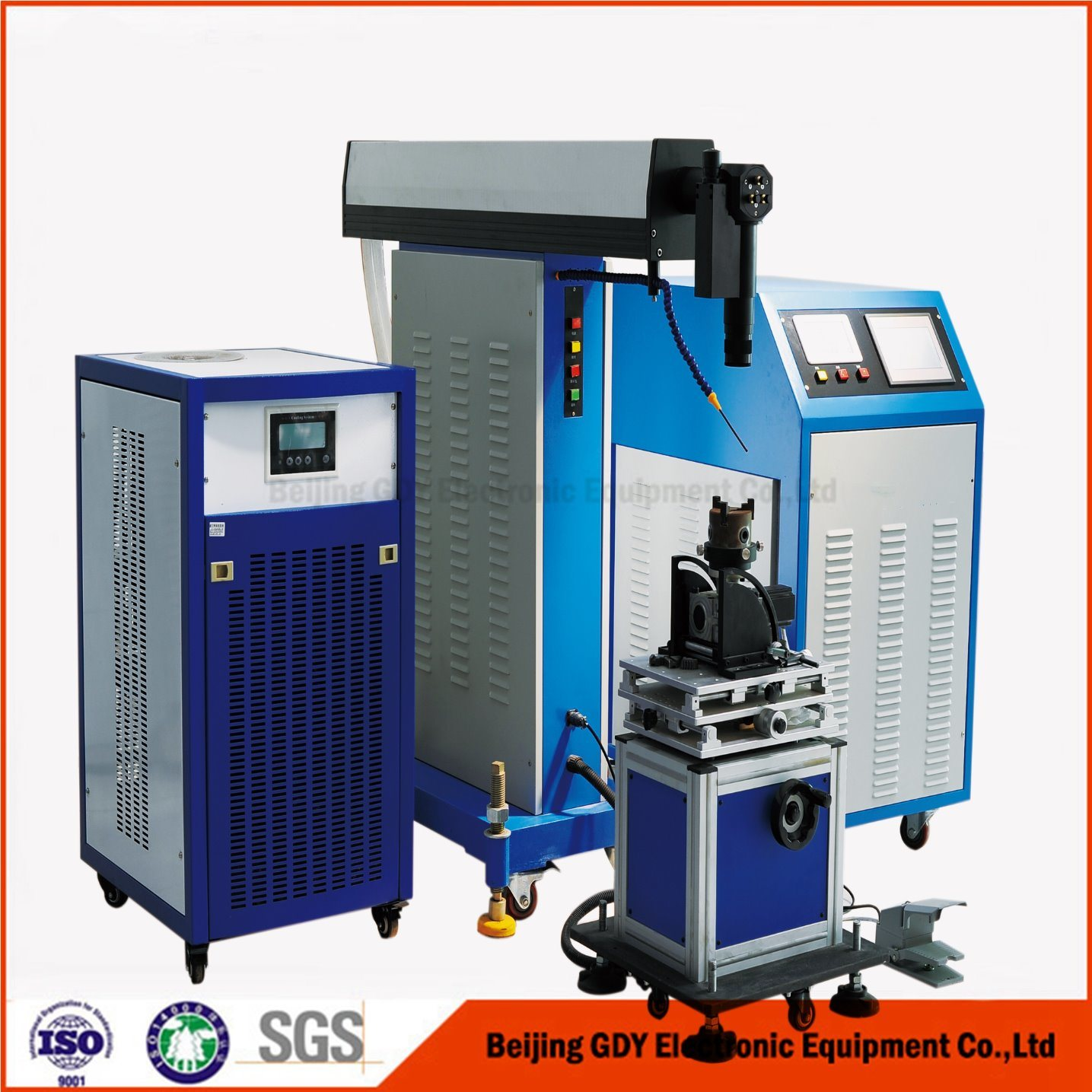 Small Welding Seam High Quality Laser Welding Machine