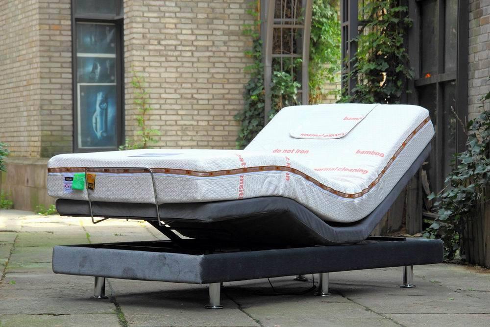adjustable lectrique bed base avec air massage mattress comfort 200af adjustable lectrique. Black Bedroom Furniture Sets. Home Design Ideas