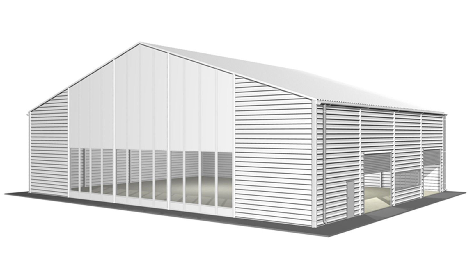 China steel warehouse shed ss 17 photos pictures for Garden shed builders warehouse