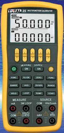 PC725 Multi-Function Process Calibrator