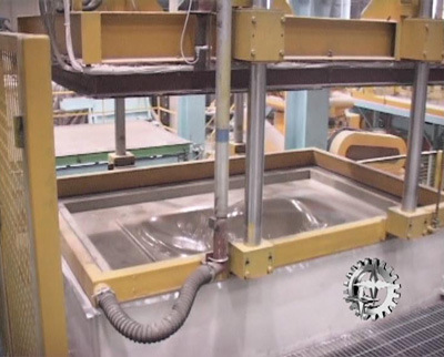 Sand Molding Machine with Vacuum System