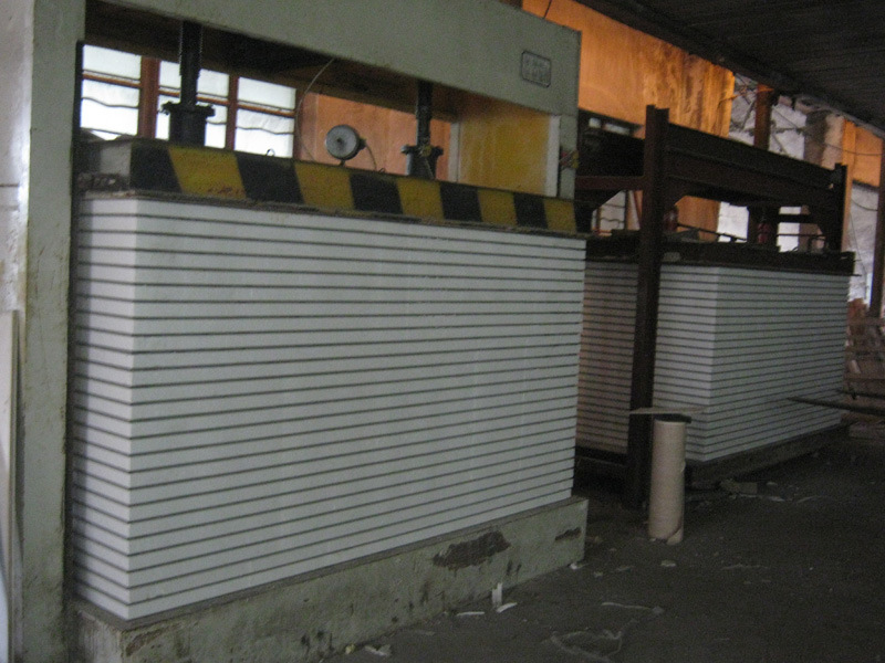 Interior Decorative Acoustic Insulated Polyurethane EPS Sandwich Foam Wall Panel