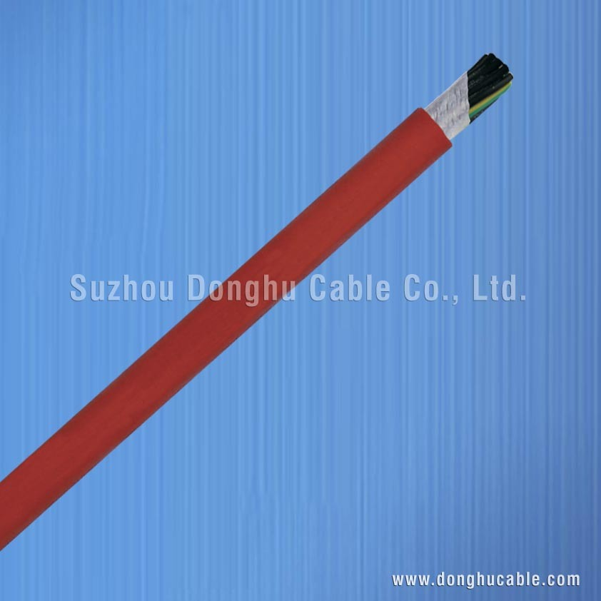TPE Insulation and Low-Smoke Non-Halogen PUR Sheath Control Cable for Drag Chains