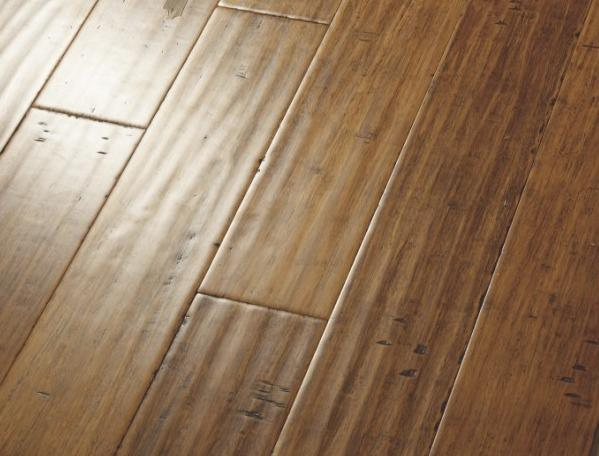 China Handscraped Strand Woven Bamboo Flooring Hsw02