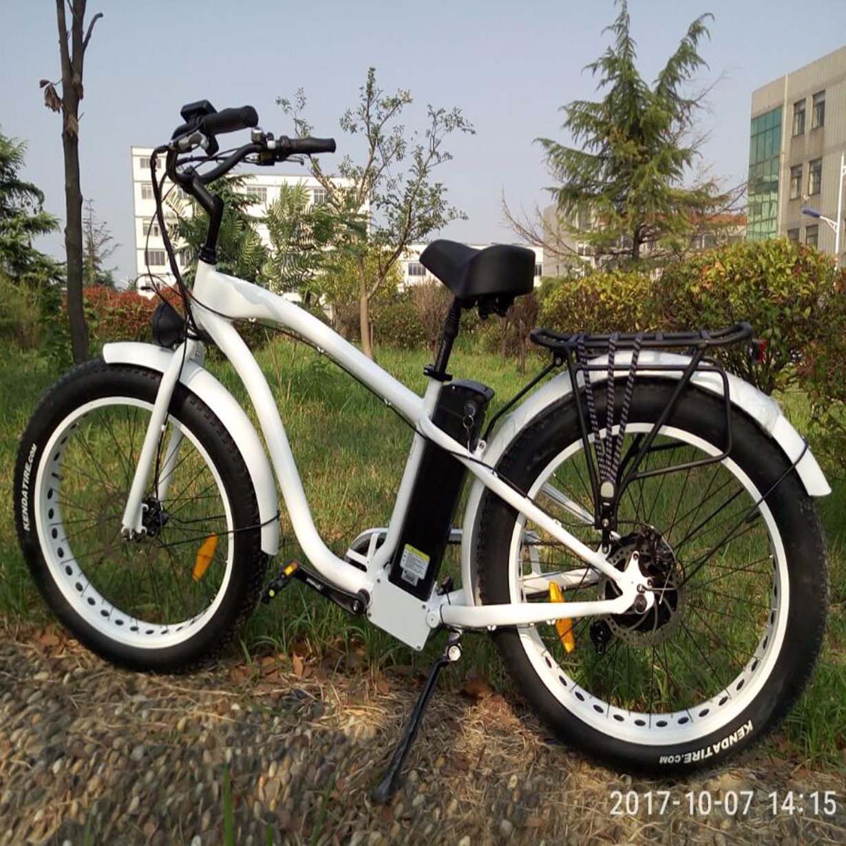 MTB 500W Hummer 26*4.0 Tire Electric Bike with Disc Brakes
