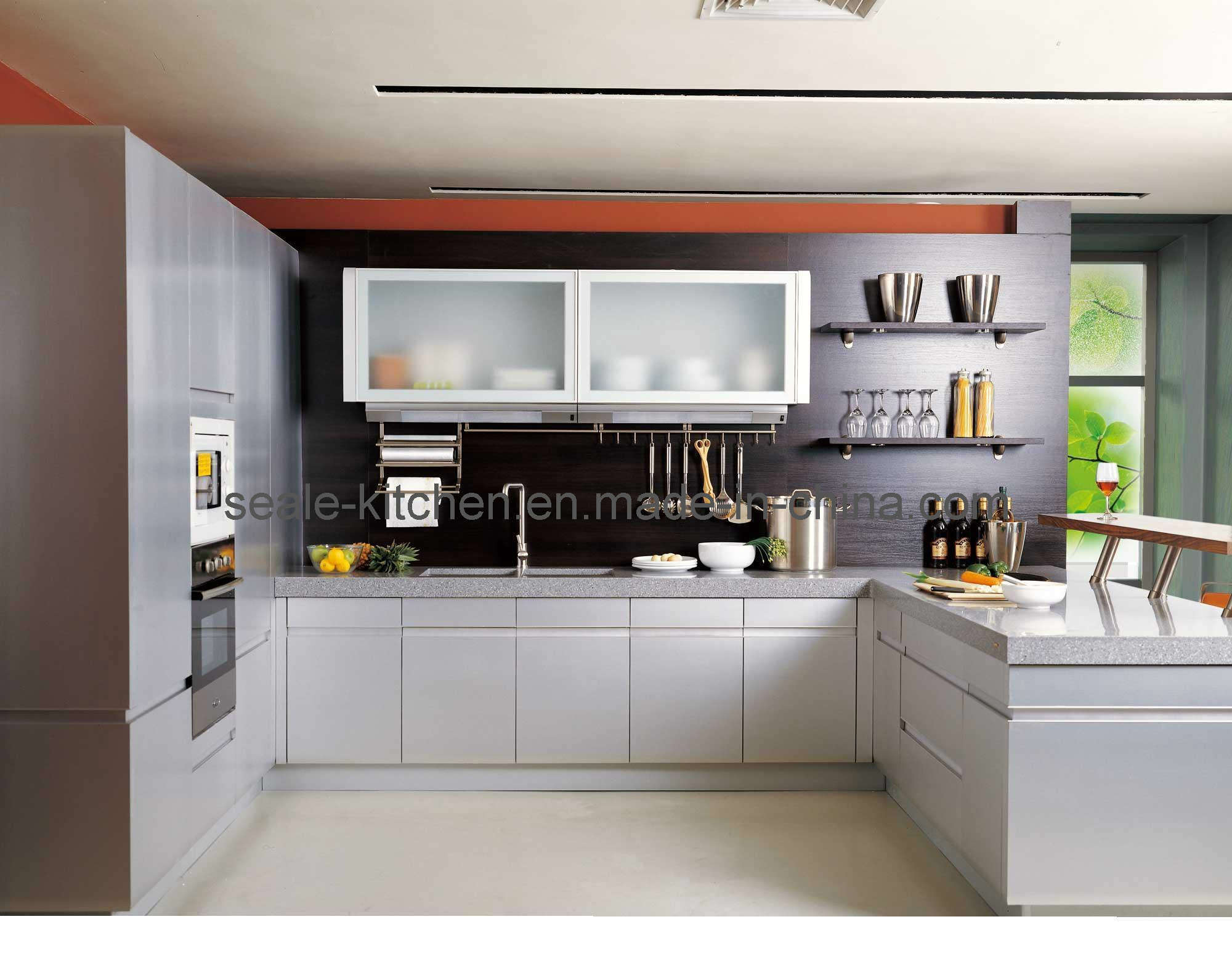 China pvc kitchen cabinet sl p 12 photos pictures made for Kitchen pics