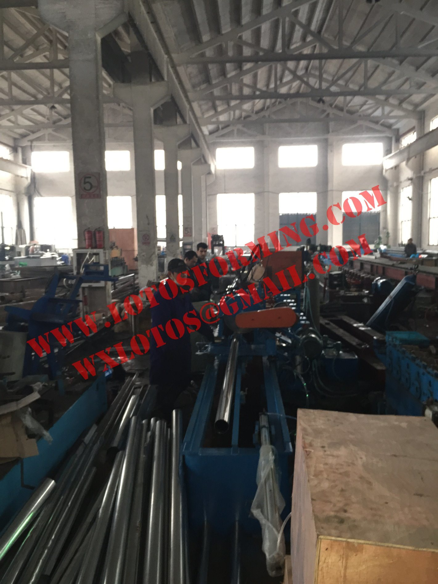 Octagonal Tube Roll Forming Machine Lts-60