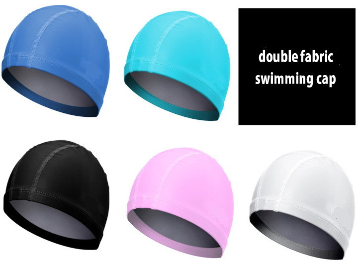 Waterproof PU Coated Spandex Swimming Cap
