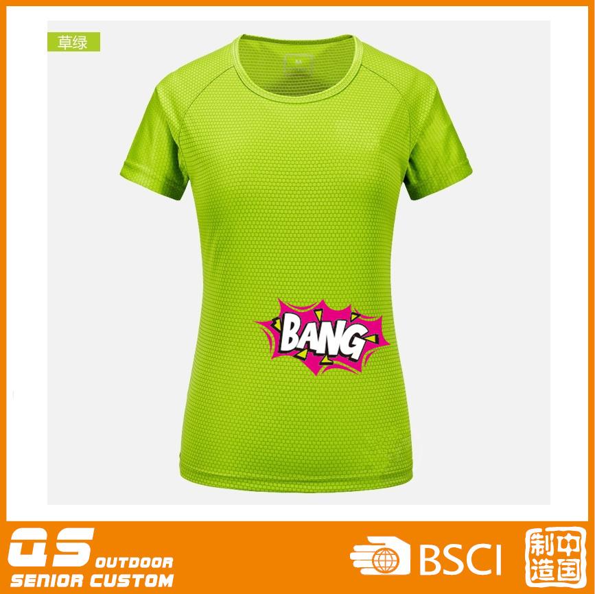 Women′s Print Fashion Quick Dry T-Shirt