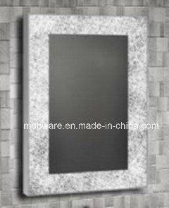 Popular Design CE UL Decorative LED Lighted Bathroom Mirrors