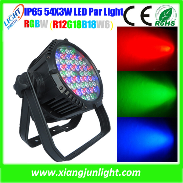 Outdoor Stage Lighting 54X3w LED Part Light RGBW