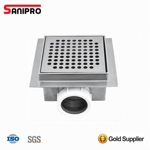 Hot Sale Chrome Stainless Steel Floor Shower Drainer