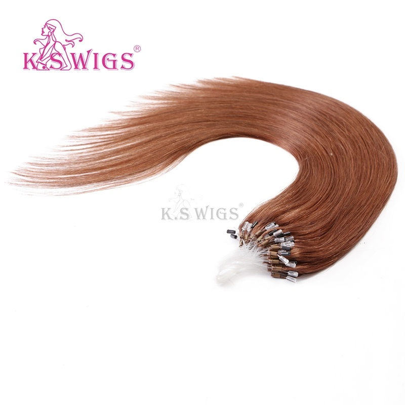 K. S Wigs Hot Sales Mirco Ring Hair Easy Ring Keratin Hair Extension