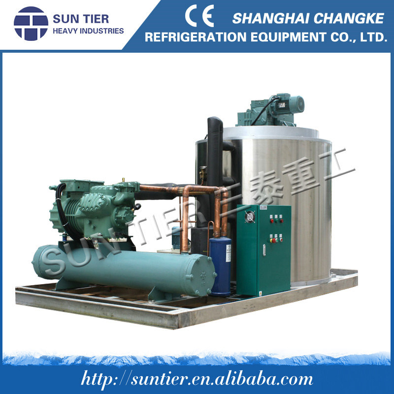 New Arrival Factory Price 30ton/Day Flake Ice Machine, with Cooling Tower