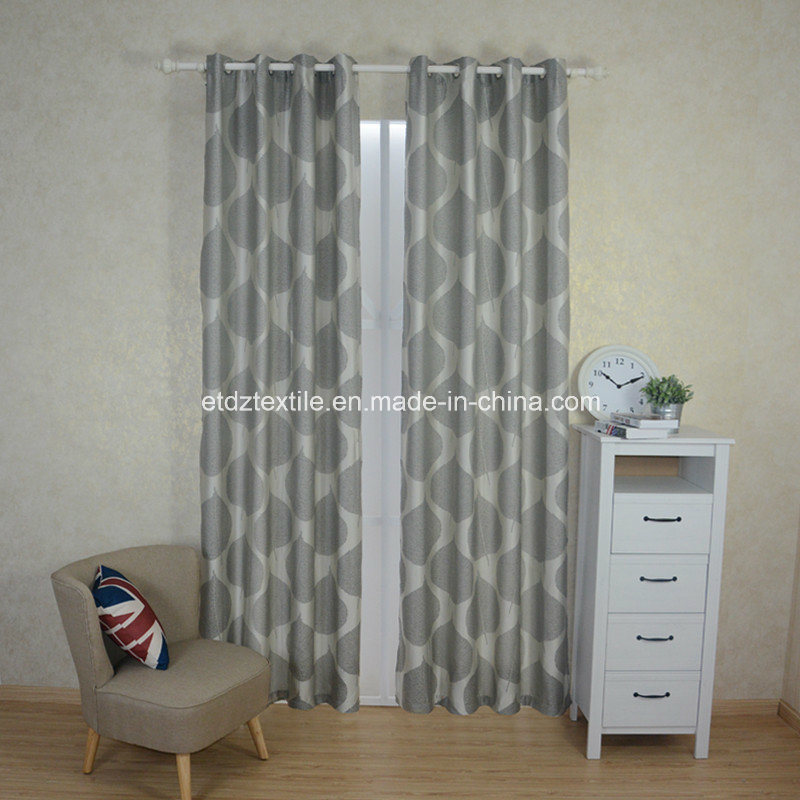 Top Quality High Warp Desity Jacquard Curtain Fabric