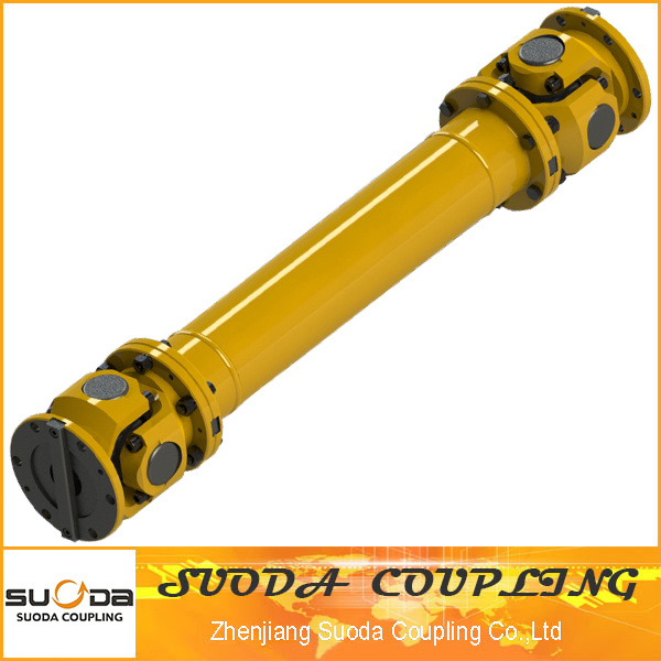 Non Telescopic and Flange Joint Long Split Fork Universal Coupling