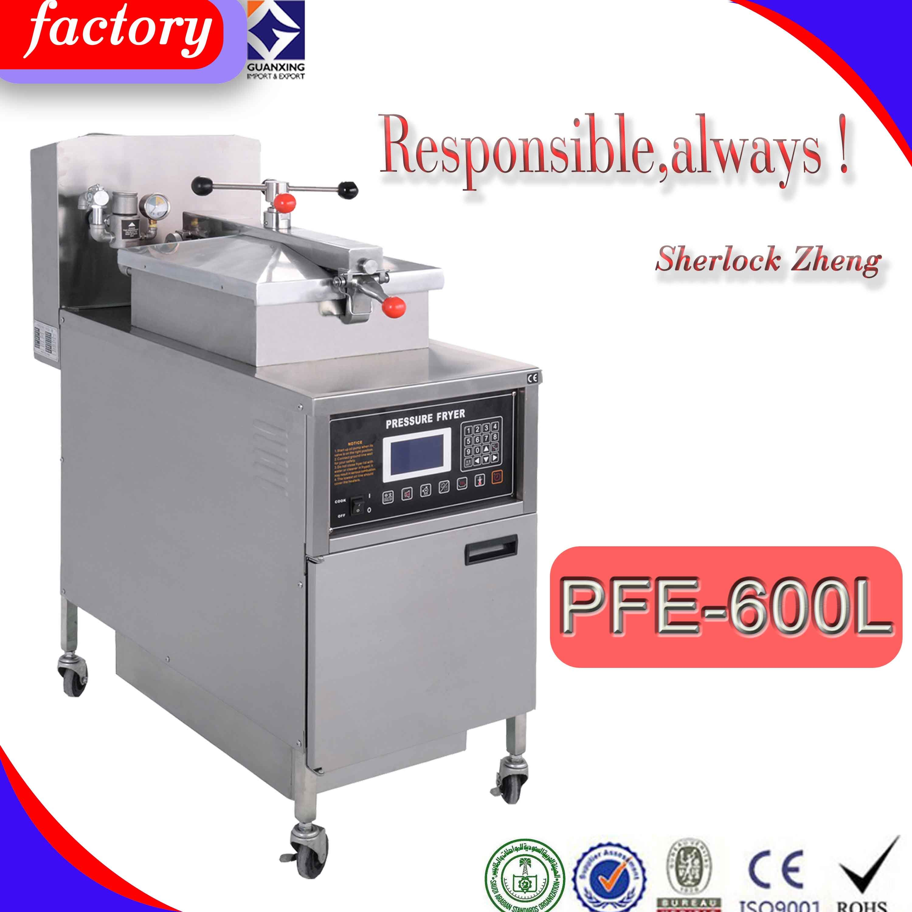 Pfe-600L Commercial Free Standing Electric Chicken Deep Fat Pressure Fryers