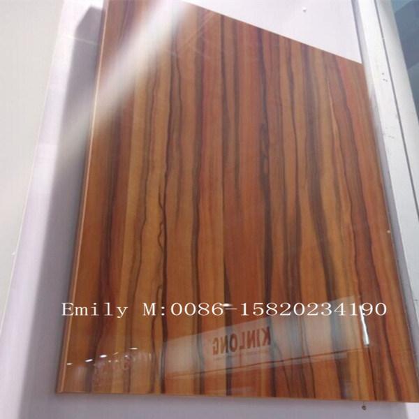 Wooden Door Kitchen Cabinet (ZHUV factory)