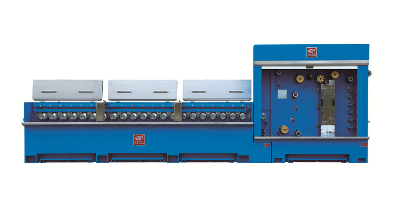 Mulit-Wires Cable Drawing Machine with Annealer