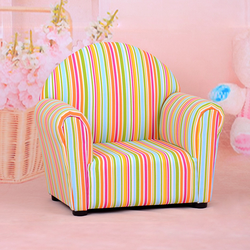 Round Back Children Furniture/Baby Chair/Fabric Sofa (SXBB-13-01)