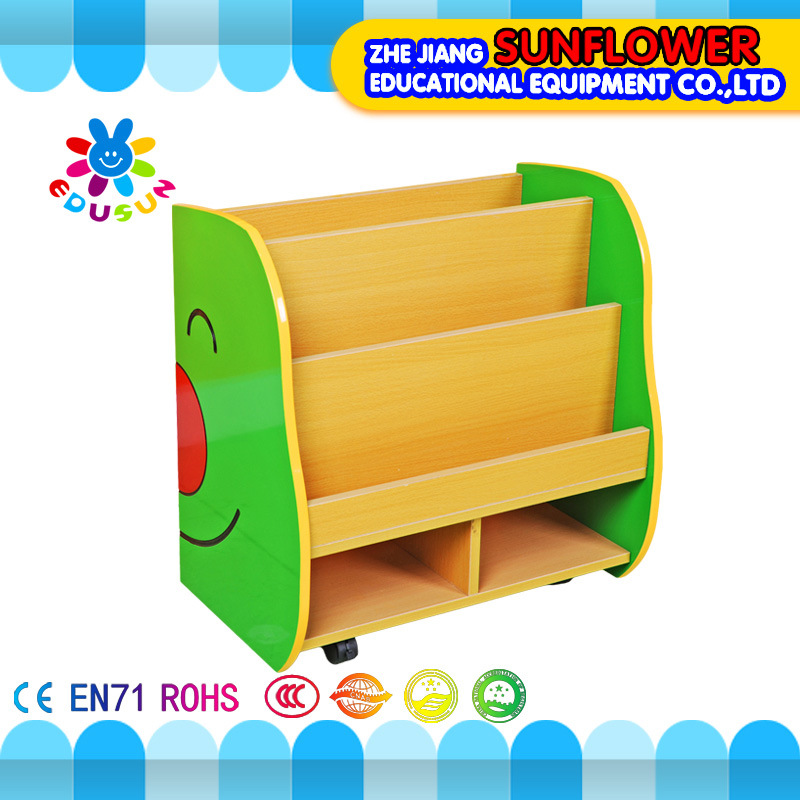 Children Wooden Toy Storage Display Cabinet, Book Rack, Wooden Toy Cupboard, Insect Modeling Toys Rack (XYH12141-2)