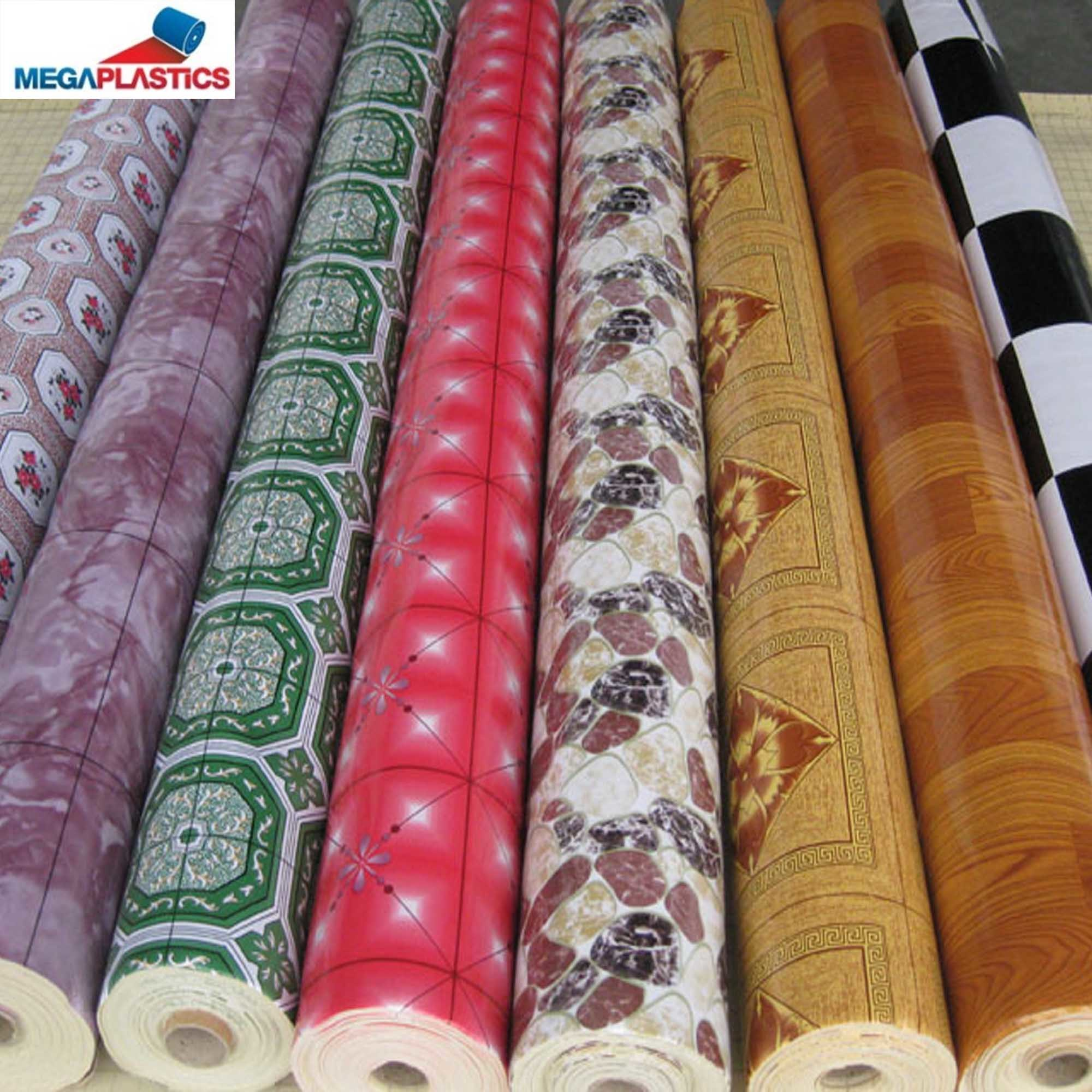 Low Price PVC Vinyl Flooring/ Sponged PVC Flooring/Plastic PVC Flooring Roll