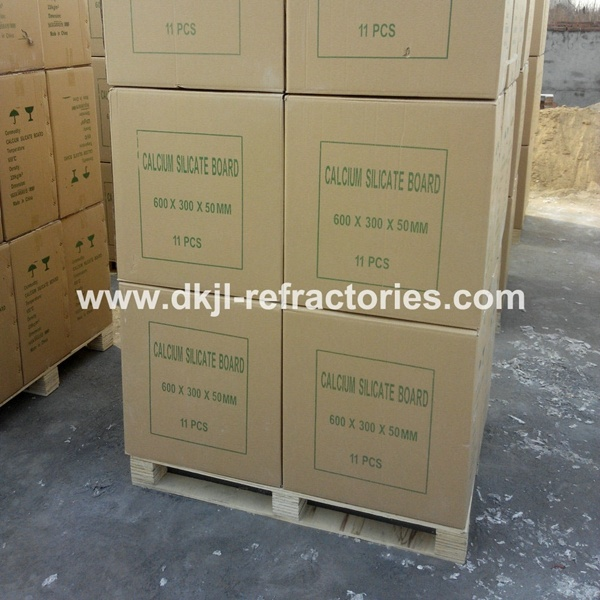 Light Weight Fireproof 650 Calcium Silicate Board