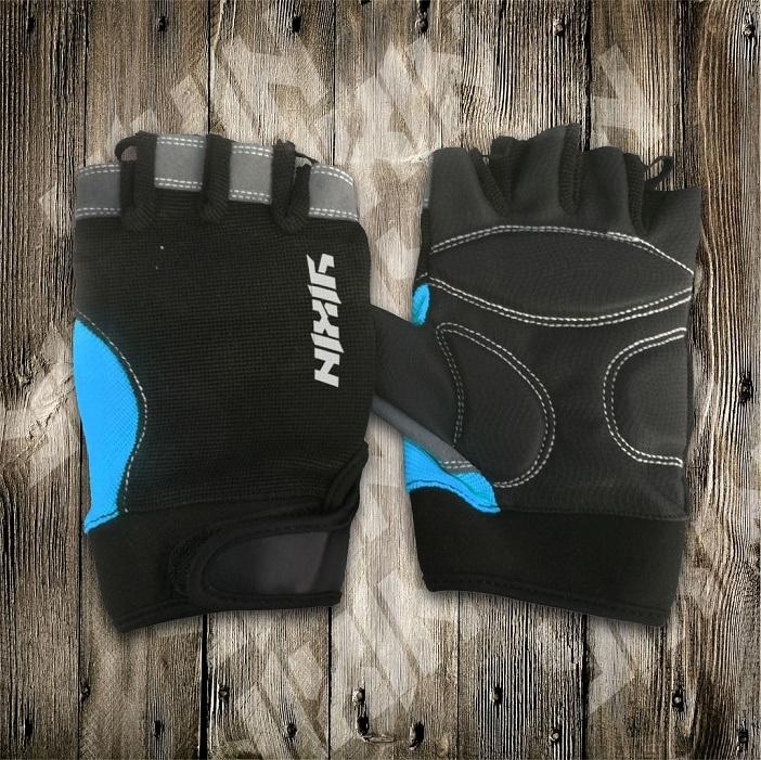 Riding Glove-Half Finger Glove-PU Gloves-Sporting Glove-Safety Glove