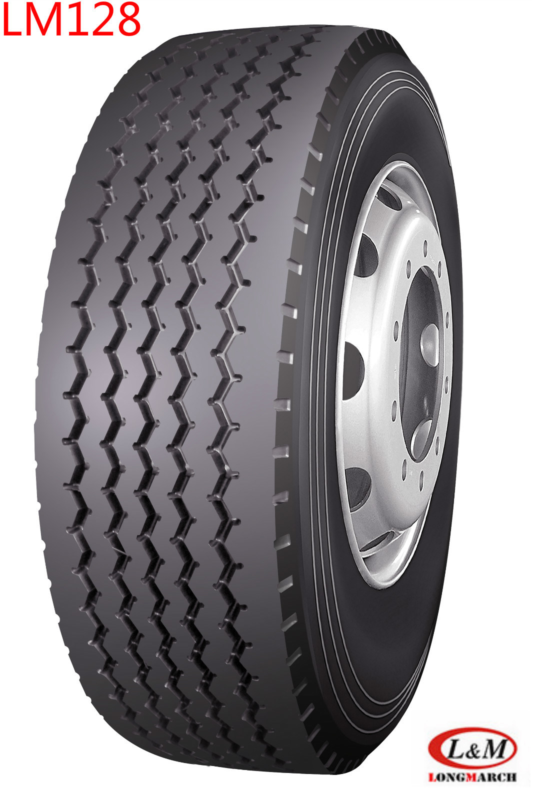 385/55r22.5 Long March Trailer/ All Position Radial Truck Tyre