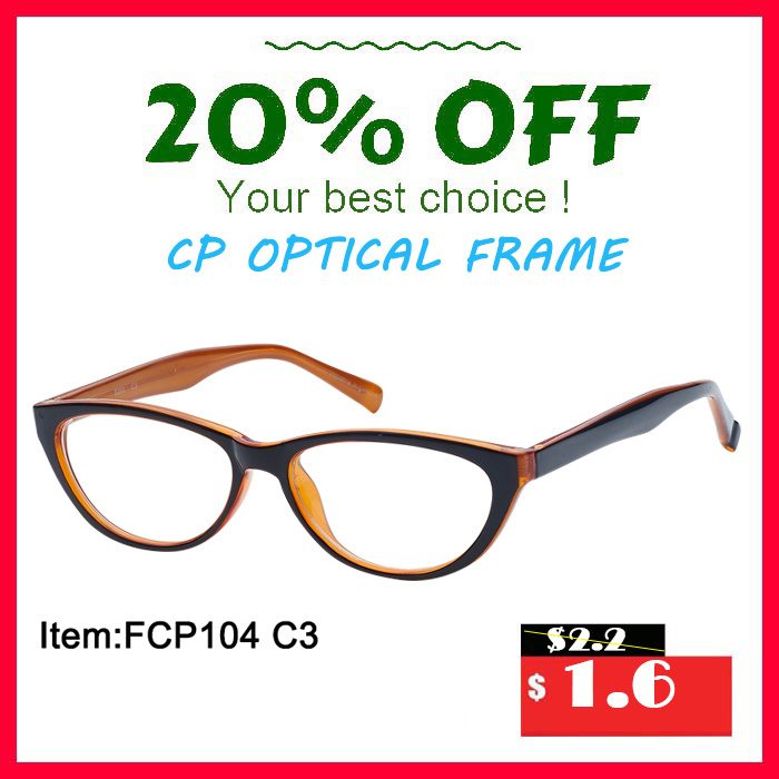 Fashion Young Lady Cheap Price Plastic Optical Frame