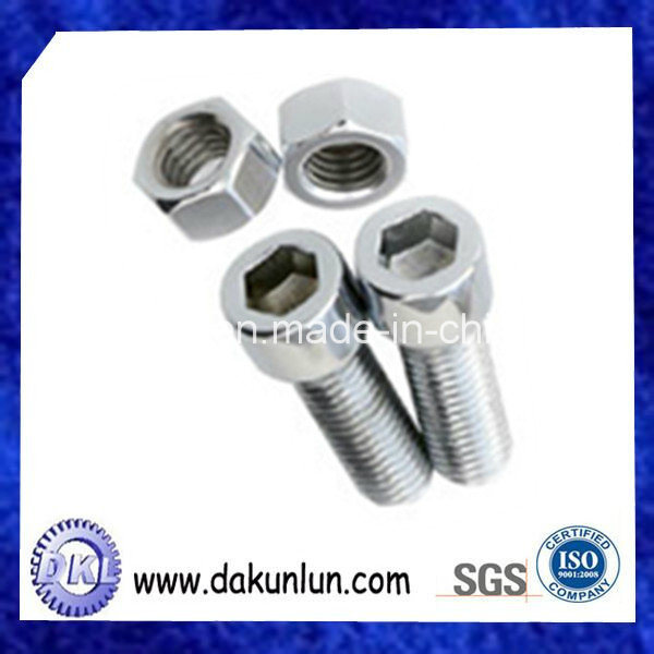 Custom Stainless Steel Metal Stud and Nut Fasteners